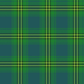 """Oliver hunting tartan, 6"""" muted"""