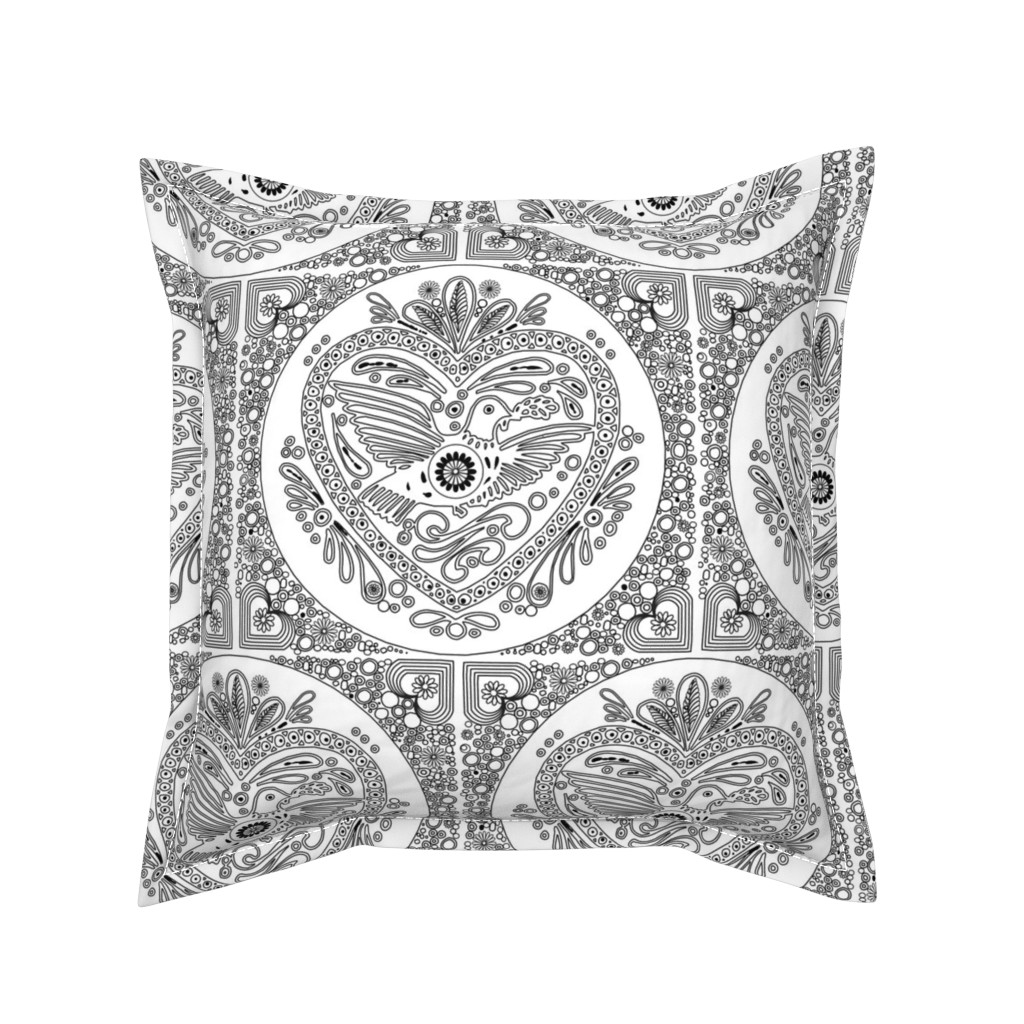 Serama Throw Pillow featuring play_with_it by isabella_asratyan