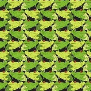 Tree Frogs Tessellated Small