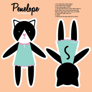 Penelope Cat Cut and Sew