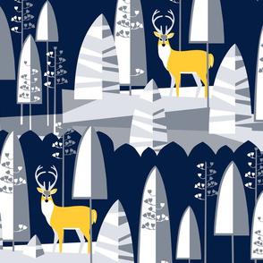 ModWinter_Deer in the Moonlight