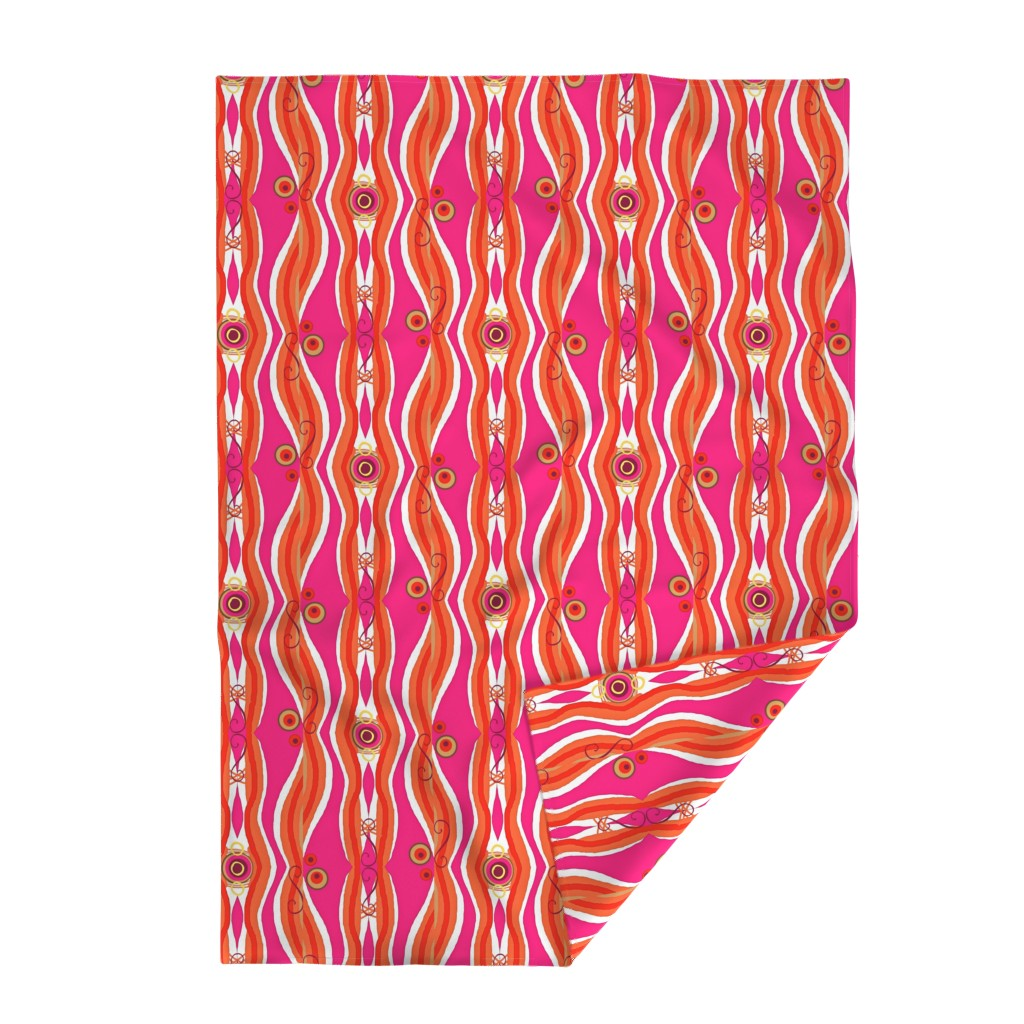 Lakenvelder Throw Blanket featuring It's A Matter of Fract! Large Scale by franbail
