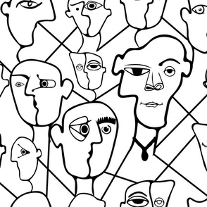 Picasso Coloring Faces