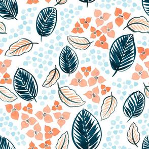 Palm Leaf Floral