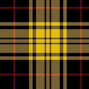 "Harmer tartan, 6"" yellow/black"