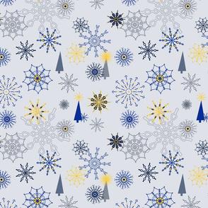 Mod Christmas Snowflakes