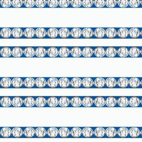 old coin blue stripe