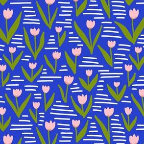 Four Seasons - Spring -Tulips