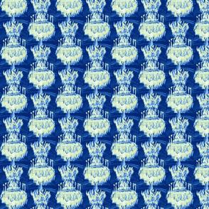 Chandeliers on Blue II