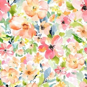 "18"" Floral Love Print"