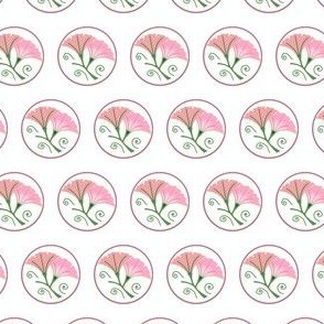 Morning glories, pink + white by Su_G