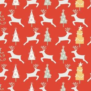 Holiday Reindeer, red©Solvejg