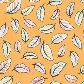 Leaf Toss (Golden)