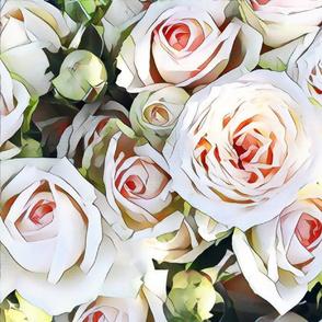 honey and milk roses