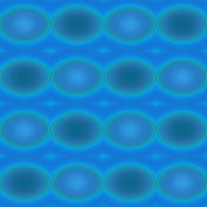 Blue Green Ovals © Gingezel™ 2011
