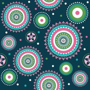 Lace circles