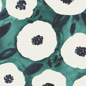 159. Green Poppy