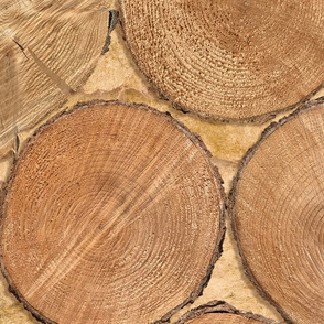 chopped wood photo
