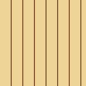 Coffee pinstripe on tiramisu cream