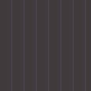 Dusky purple pinstripe