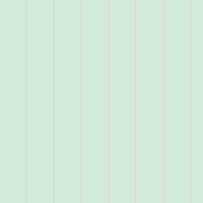 pale mint pinstripe - wide