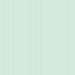 pale mint pinstripe