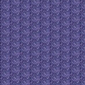 indigo/purple doll size