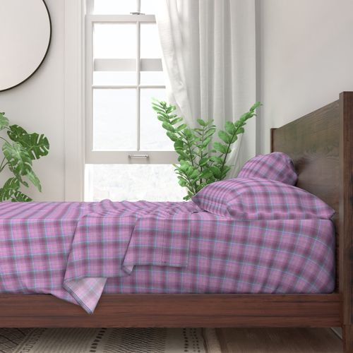 Image result for LAVENDER PINK BLUE PLAID BEDSPREAD
