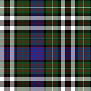 "MacDonell of Glengarry dress tartan, 12"""