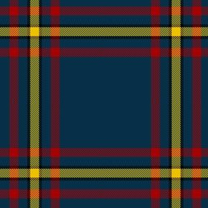 "MacLaine hunting tartan #2, 4"""