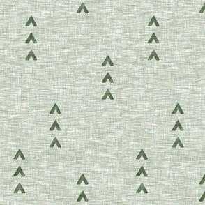 Tri Arrows - Sage