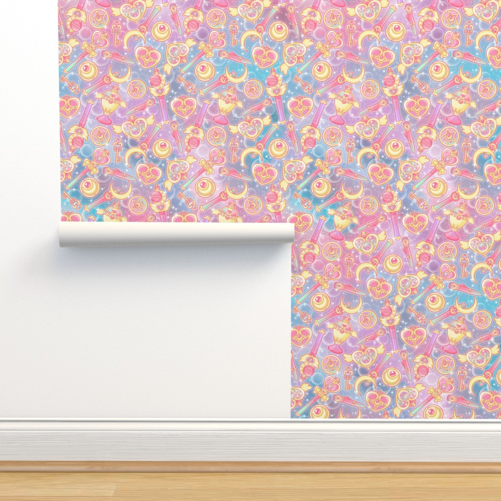 Isobar Durable Wallpaper featuring Pretty Guardian by nuk
