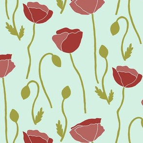 Poppies Floral