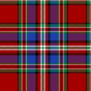 "MacFarlane red tartan #1, 6"""