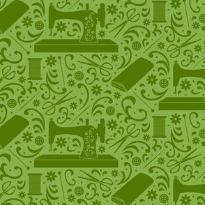 Sew Many Things (Green)