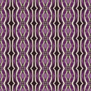 Zebra - black and purple