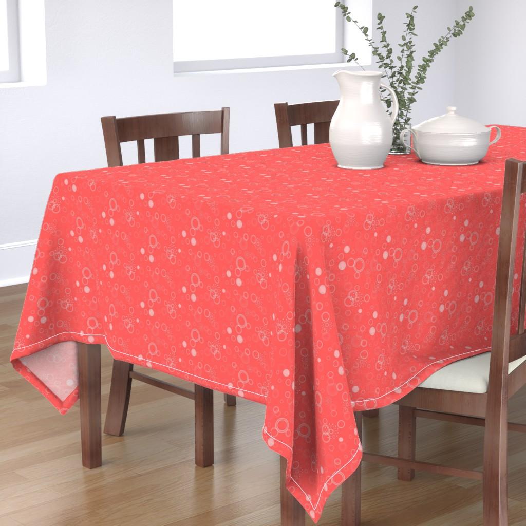Bantam Rectangular Tablecloth featuring Summer circles by elizabethmay