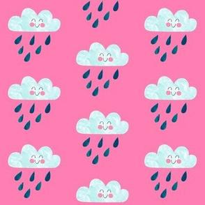 Happy Rain Pink