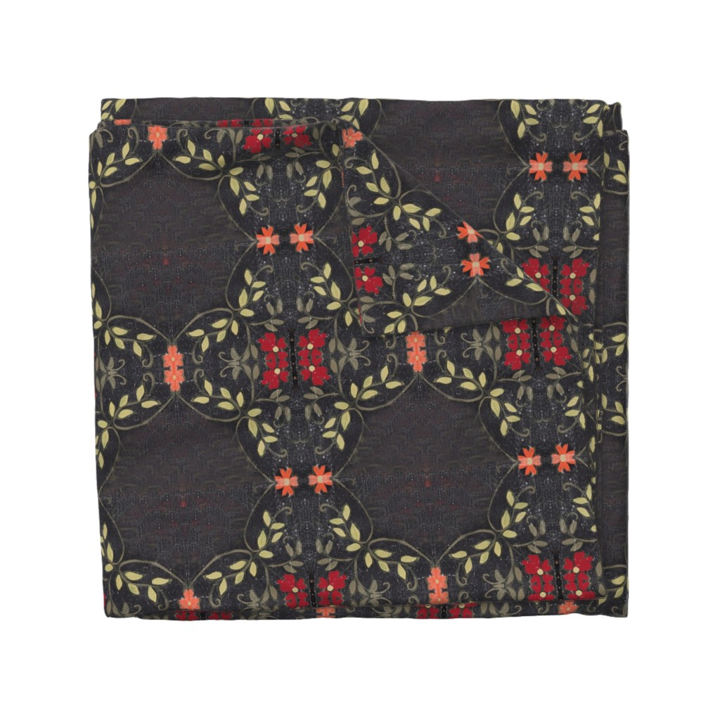 Wyandotte Duvet Cover featuring Bolly black by maria_pezzano