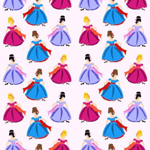 Dancing Princesses Pink