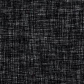 dark charcoal linen