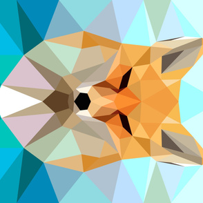 Fragmented Fox Horizontal yard