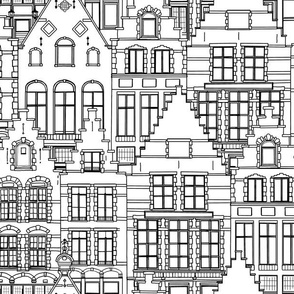 Coloring Book - Stepped Gables