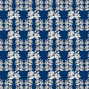 Victorian Water Lilies Fabric Design