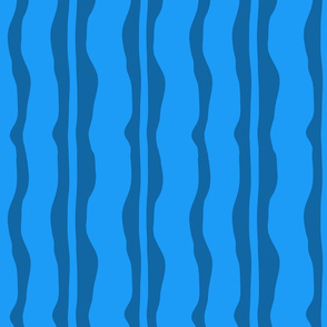 Blue Wave Stripe