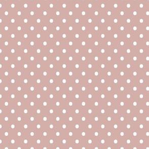 Spots - Dusty Pink