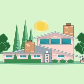 Pink Atomic House