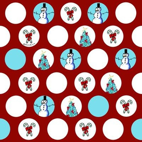 KiniArt Snowman Christmas