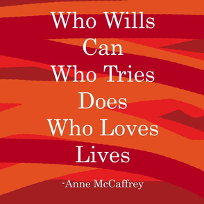 Who Wills Can -Red