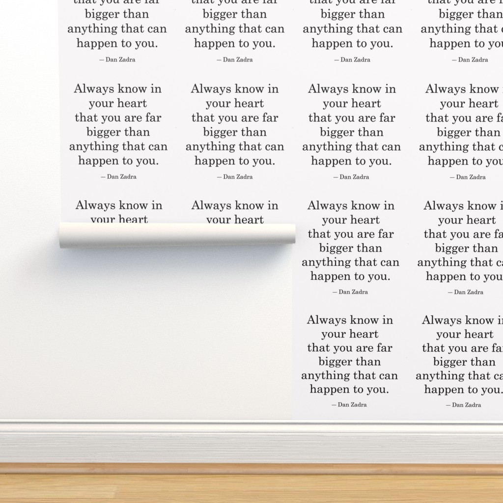 Isobar Durable Wallpaper featuring Stronger Than by tetonbadger